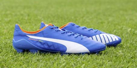 9a65ffee87c BRIGHT BLUE evoSPEED SL FOOTBALL BOOT LAUNCHED BY PUMA
