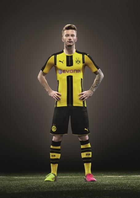 sneakers for cheap da54c 0d9a7 PUMA & Borussia Dortmund Reveal New Home Kit for 2016/17 ...