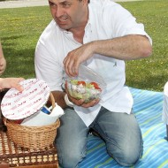 Martin dejdar si dává Brazer salát